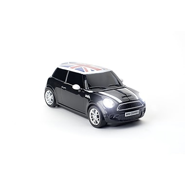 Click Car Mini Cooper S Astro Black Wireless Mouse, (660134)