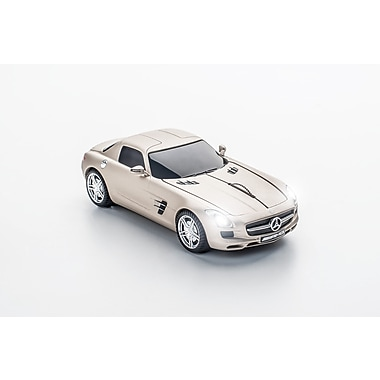 Click Car Mercedes SLS AMG Pearl Beige Matte Wireless Mouse, (660264)