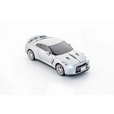 Click Car Nissan GT-R Silver Matte Wireless Mouse, (660288)