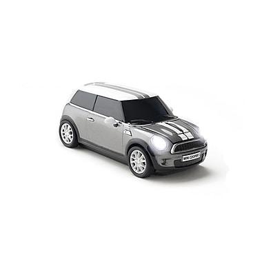 Click Car Mini Cooper S Dark Silver Wireless Mouse, (660400)