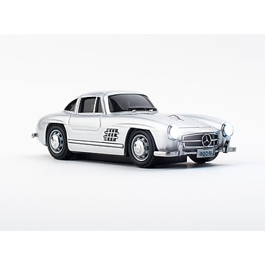 Click Car Mercedes-Benz 300SL Oldtimer Silver Wireless Mouse, (660479)