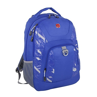 Swiss Gear Backpack Fits Most Tablets, Blue, (SWA2412 080)