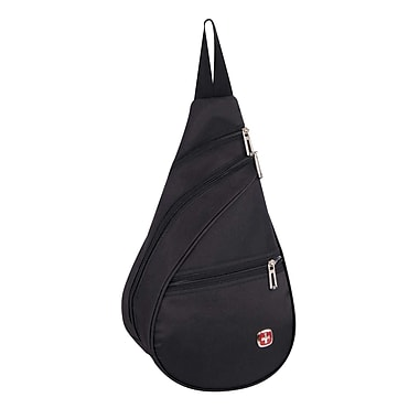 Swiss Gear Lightweight Mini Sling, Black, (SWA2414 009)