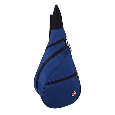 Swiss Gear – Mini sac bandoulière léger, bleu, (SWA2414 080)