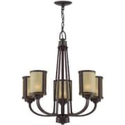 Aurora Lighting 5-Light Incandescent Chandelier - Aged Bronze (STL-LTR452034)