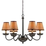 Aurora Lighting 6-Light Incandescent Chandelier - Dark Bronze (STL-LTR457206)