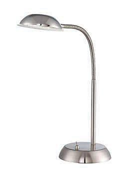 Aurora Lighting 1-Light LED Desk Lamp - Polished Steel (STL-LTR456285)