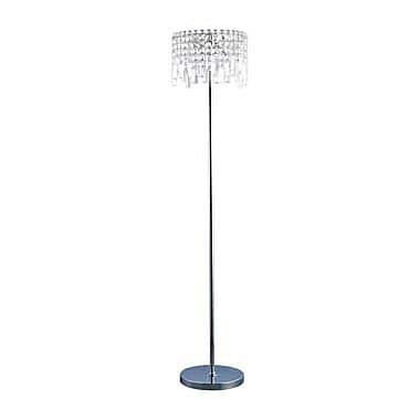 Aurora Lighting 5-Light Halogen Floor Lamp - Polished Chrome (STL-LTR901068)