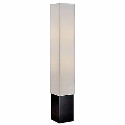 Aurora Lighting 2-Light CFL Floor Lamp - Dark Walnut (STL-LTR441632)