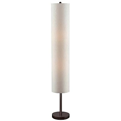 Aurora Lighting 2-Light CFL Floor Lamp - Dark Walnut (STL-LTR450948)