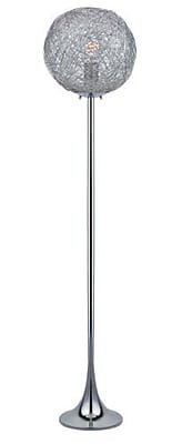 Aurora Lighting 1-Light CFL Floor Lamp - Polished Chrome (STL-LTR459217)