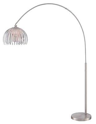 Aurora Lighting 1-Light CFL Floor Lamp - Polished Chrome (STL-LTR461395)