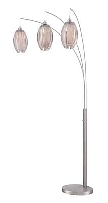 Aurora Lighting 3-Light Incandescent Floor Lamp - Polished Chrome (STL-LTR461371)