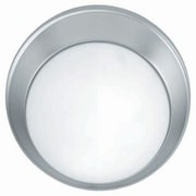 Aurora Lighting 2-Light Incandescent Flush Mount - Satin Steel (STL-LTR407058)