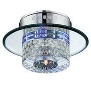 Aurora Lighting 1+4-Light Halogen Flush Mount - Polished Chrome (STL-LTR451846)