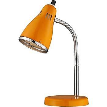 Aurora Lighting 1-Light CFL Gooseneck Desk Lamp - Orange (STL-LTR460756)