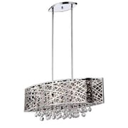 Aurora Lighting 5-Light Halogen Island Pendant - Polished Chrome (STL-LTR900825)
