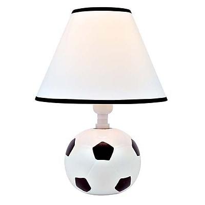 Aurora Lighting CFL Novelty Table Lamp - White (STL-LTR800750)