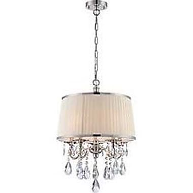 Aurora Lighting 5-Light Incandescent Pendant - Polished Chrome (STL-LTR496526)