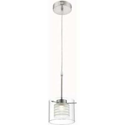 Aurora Lighting 1-Light LED Pendant - Polished Steel (STL-LTR456681)