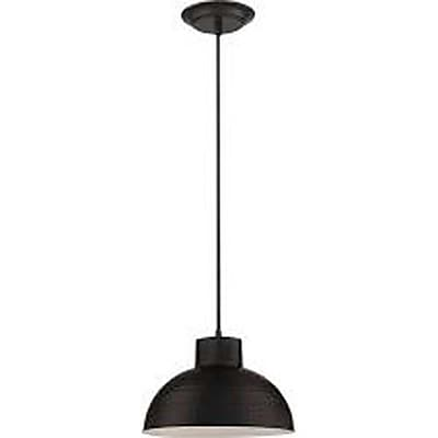 Aurora Lighting 1-Light Incandescent Pendant - Dark Bronze (STL-LTR461890)