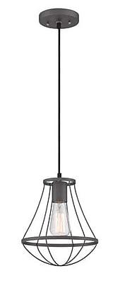 Aurora Lighting 1-Light Incandescent Pendant - Wrought Iron (STL-LTR463870)