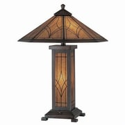 Aurora Lighting CFL Table Lamp - Dark Bronze (STL-LTR493662)
