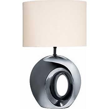 Aurora Lighting Incandescent Table Lamp - Black Chrome (STL-LTR429685)