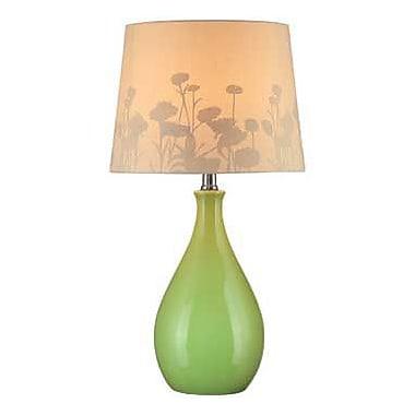 Aurora Lighting CFL Table Lamp - Green (STL-LTR444954)