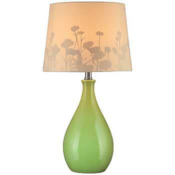 Aurora Lighting CFL Table Lamp - Green (STL-LTR444954)