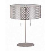Aurora Lighting CFL Table Lamp - Polished Steel (STL-LTR445197)