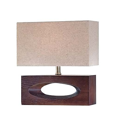 Aurora Lighting CFL Table Lamp - Dark Walnut (STL-LTR446750)