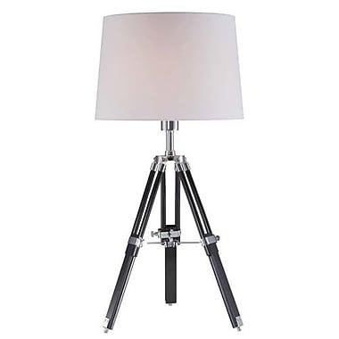 Aurora Lighting CFL Table Lamp - Polished Steel (STL-LTR447535)
