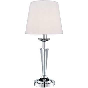 Aurora Lighting Incandescent Table Lamp - Polished Chrome (STL-LTR449041)