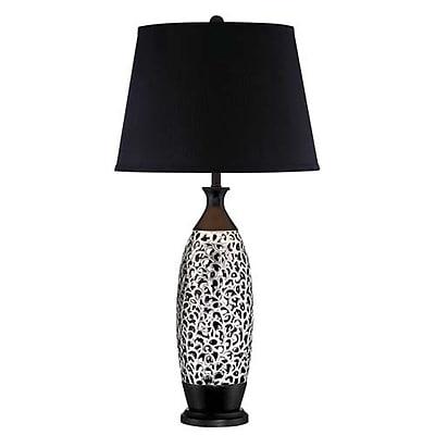 Aurora Lighting CFL Table Lamp - Black (STL-LTR452621)