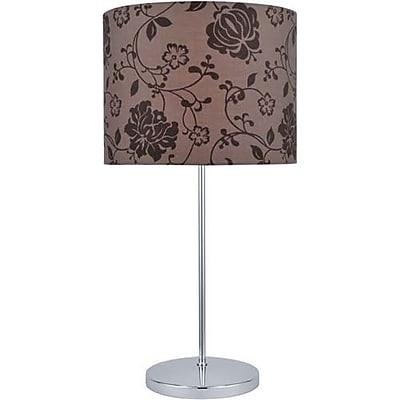 Aurora Lighting CFL Table Lamp - Polished Chrome (STL-LTR453055)