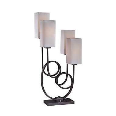 Aurora Lighting Incandescent Table Lamp - Antique Gold (STL-LTR455493)