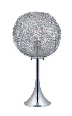 Aurora Lighting CFL Table Lamp - Polished Chrome (STL-LTR459200)