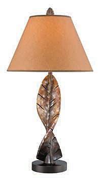 Aurora Lighting CFL Table Lamp - Dark Brown (STL-LTR459552)