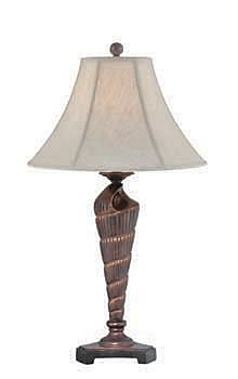 Aurora Lighting CFL Table Lamp - Dark Bronze (STL-LTR459613)