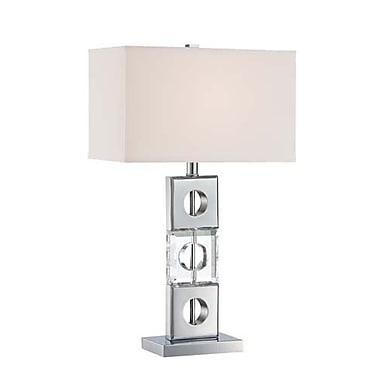 Aurora Lighting CFL Table Lamp - Polished Chrome (STL-LTR459903)