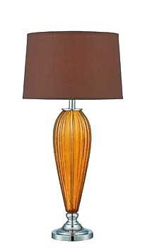 Aurora Lighting CFL Table Lamp - Polished Chrome (STL-LTR459835)