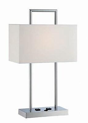 Aurora Lighting CFL Table Lamp - Polished Chrome (STL-LTR459859)