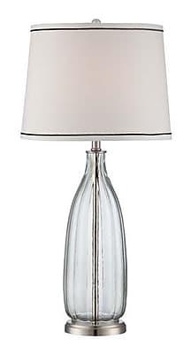 Aurora Lighting Incandescent Table Lamp - Polished Steel (STL-LTR460381)