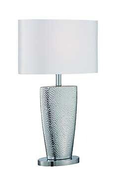 Aurora Lighting CFL Table Lamp - Polished Chrome (STL-LTR460503)