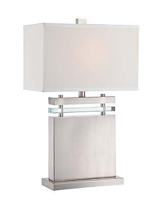Aurora Lighting CFL Table Lamp - Polished Steel (STL-LTR460909)