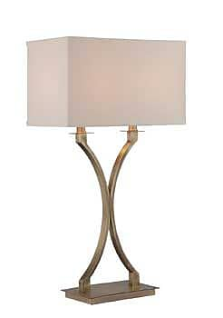 Aurora Lighting CFL Table Lamp - Antique Brass (STL-LTR461692)