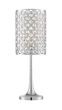 Aurora Lighting CFL Table Lamp - Polished Chrome (STL-LTR462293)