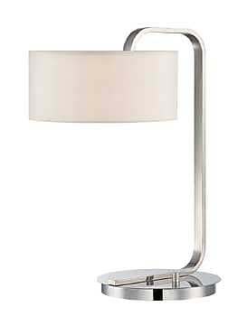 Aurora Lighting Incandescent Table Lamp - Polished Chrome (STL-LTR462316)