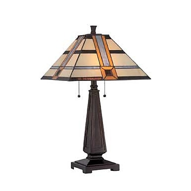 Aurora Lighting CFL Table Lamp - Dark Bronze (STL-LTR462217)